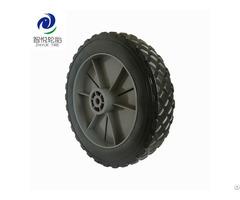 China Hot Sale 7 Inch Pvc Plastic Wheel For Folding Wagon Tool Cart Lawn Mower Wholesale