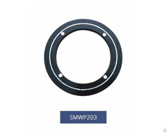 Black Color 203mm 8inch Low Noise Aluminum Lazy Susan Swivel Bearings Smwp203
