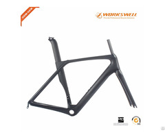 Good Quality Aero Carbon Road Bike Frame With 2 Years Warranty