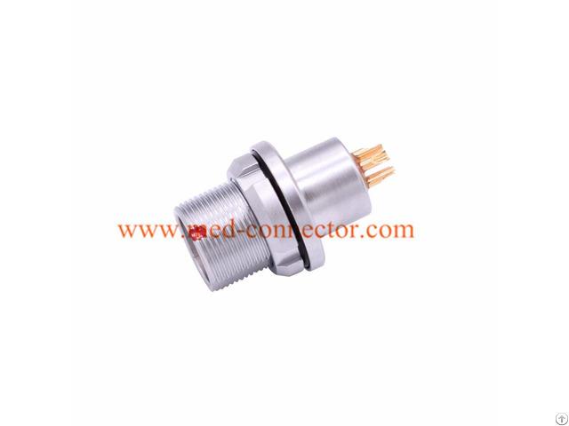 Compatible Lemo B Series Heg Socket Push Pull Self Locking Connector