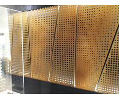 Perforated Stainless Steel Sheet For Architectural Decor And Ventilating