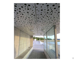 Perforated Ceiling Panels For Retrofits Or New Construction