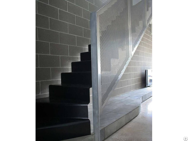 Perforated Metal Are Ideally Used As Balustrade Infill Panels