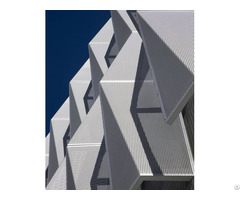 Perforated Metal Panels For Architectural Sun Control System