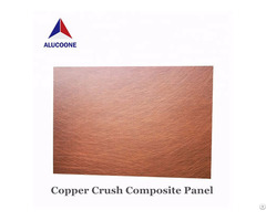 Alucoone Copper Brushed Composite Panel