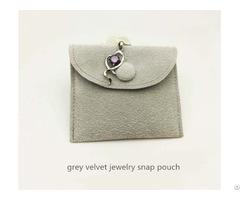Velvet Brooches Bag