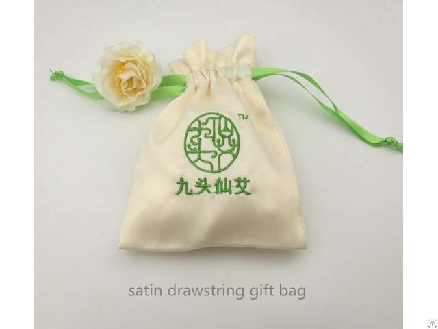 Satin Jewelry Pouch Bag