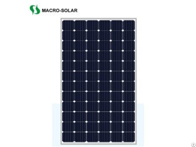 High Efficiency 350w Monocrystalline Solar Panel For Power Station