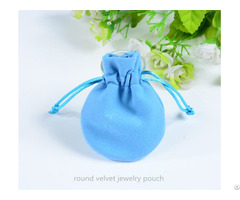 Velvet Drawstring Jewelry Bag