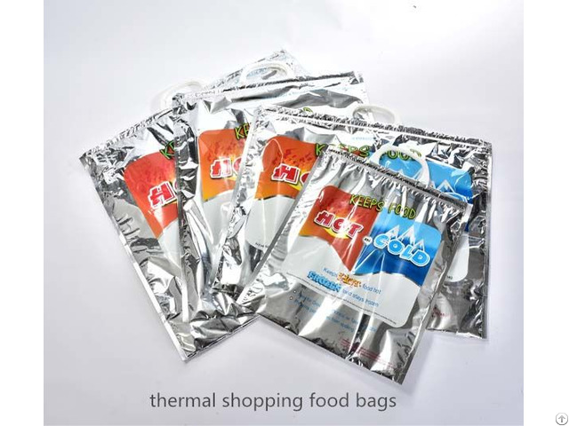 Aluminium Foil Thermal Bag With Epe Foam