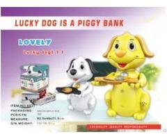 Lucky Dog Is A Piggy Bank 8837