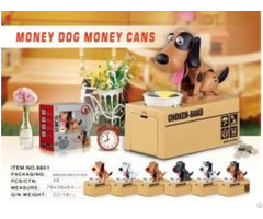 Money Dog And Cans 8801