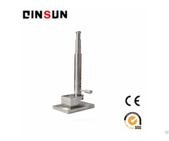 Button Falling Weight Impact Tester