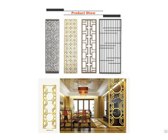 Mirror Titanium Stainless Steel Wall Panels Decorative Color Screen