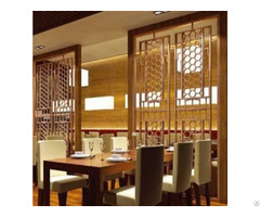 Modern Style Luxurystainless Steel Screen
