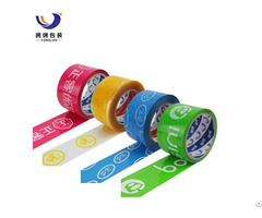 Free Samples Carton Sealing Logo Printed Custom Bopp Packing Adhesive Tape For Packaging