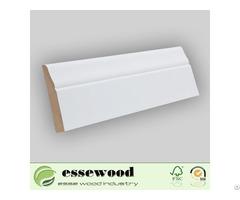 Gesso Primed Mdf Baseboard Moulding