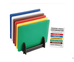 Colorful Plastic Virgin Pe Cutting Board For Kitchen