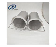 Stainless Steel Strainer With Perforated Filter Basket For The Hole Shape Stability