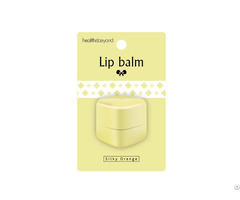 Silky Orange Deep Moisturizing Lip Balm