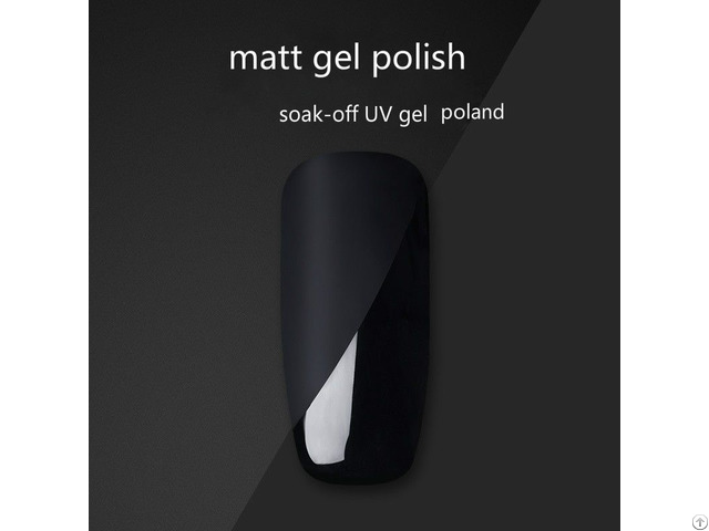 Nail Gel Polish Matt Top Coat Soak Off