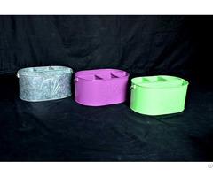 Colored Caddies Set Of 3