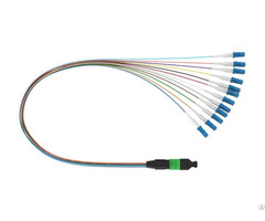 Mpo Lc 12f 0 9mm Fanout Cable