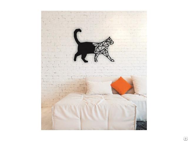 Linewallart Cat Hanging Portrait