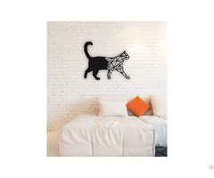 Linewallart Cat Hanging Portrait