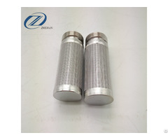 Stainless Steel Sintered Wire Mesh Filter Cartridge For Filtration Of Chemical Fiber Products