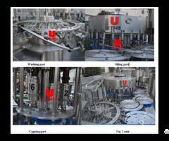 Water Filling Bottling Machine Plants