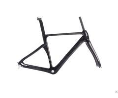 Hot Sale Carbon Fiber Di2 Road Bike Frame Three Brakes Compatible