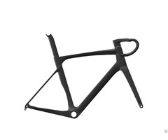 All Internal Cable Routing Carbon Aero Road Bike Frame