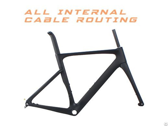 Big 32tire Road Aero Frame With Full Internal Cable Routing