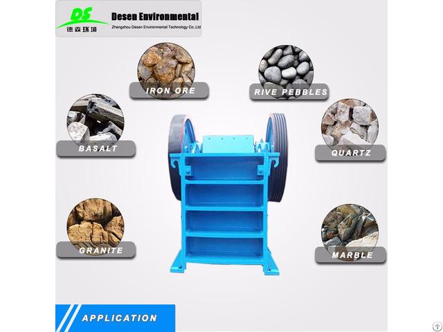 High Quality Jaw Stone Crushing Machine