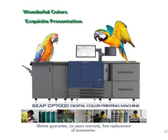 Cmyk Digital Color Printing Machine Seap Cp7000