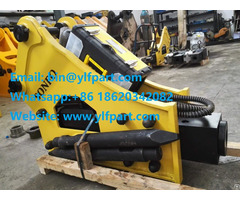 Hydraulic Breaker Rock Hammer For 10 55ton Excavator Demolition