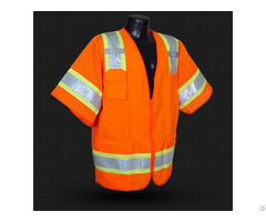China High Visibility Reflective Vest For Safety Wear Manufacturer