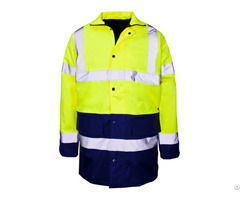 Factory Direct Provide High Visibility Reflective Safety Jacket For Unisex Adults Uniform