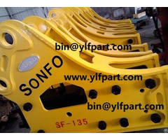 Hydraulic Breaker Excavator Rock Hammer For 8 26 Ton