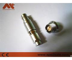 Compatible Lemo Connector B Series Push Pull Connectors 2 Pins Circular Plug