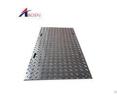 Strong Stable Crane Durable Hot Sell Pe Uhmw Plastic Mobile Ground Mats