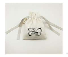 Cotton Drawstring Jewelry Bag