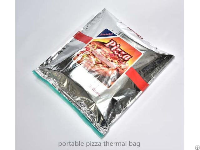 Plastic Pizza Thermal Bag For Instant Food