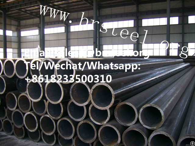 Astm A519 Grb Sch40 Sch80 Seamless Black Steel Pipe