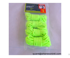 Guy Line Flourescent Rope Pp Nylon Poly Elastic