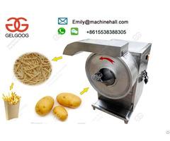 Potato French Fires Cutting Machine