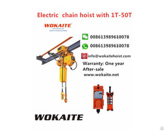 Wokaite New Type Electric Chain Hoist With 1t