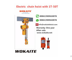 Wokaite New Type Electric Chain Hoist With 5t