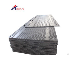 Portable Temporary Construction Access Sidewalk Pavement Ground Protection Mat